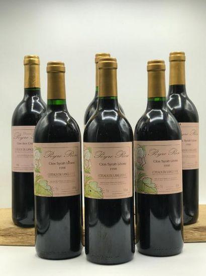 4 bouteilles Coteaux du Languedoc Peyre Rose...