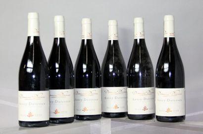 Six bouteilles AUXEY DURESSES - Domaine DICONNE...