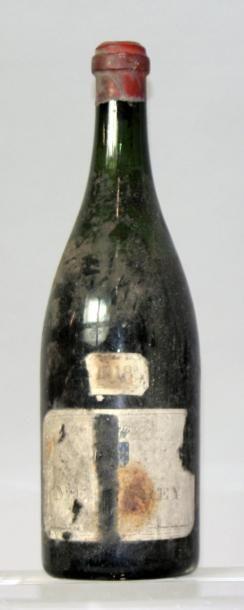 Une bouteille MERCUREY 1918. (Etiquette déchirée,...