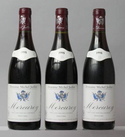 Trois bouteilles MERCUREY - Michel JUILLOT...