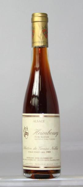 "Une demi bouteille ALSACE - PINOT GRIS 'Heimbourg""..."
