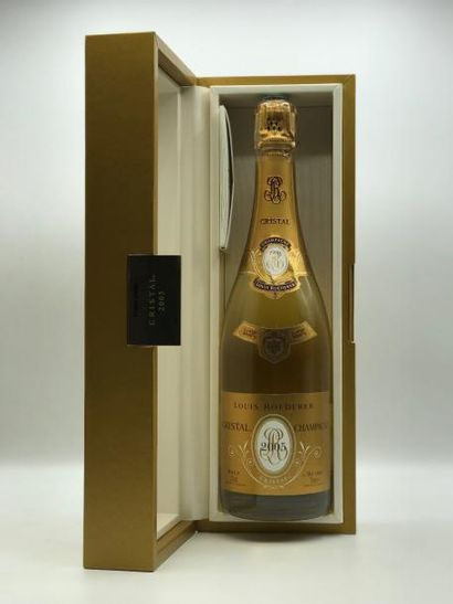 1 bouteille CHAMPAGNE Cristal Louis Roederer...