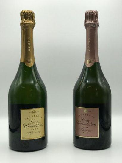 1 bouteille Champagne William Deutz Blanc...