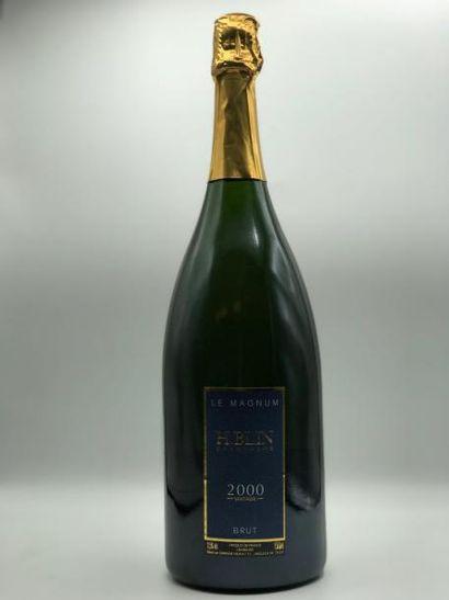 1 magnum CHAMPAGNE An 2000 Henri Blin et...