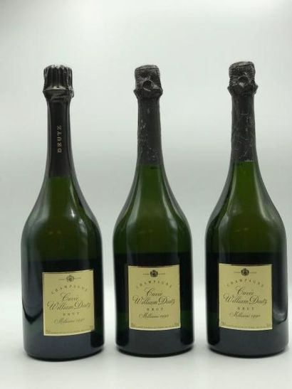 3 bouteilles CHAMPAGNE