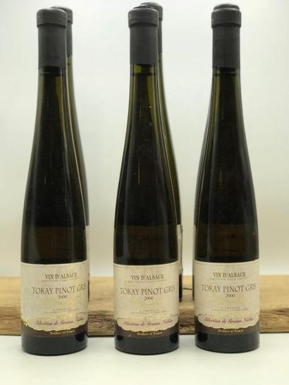 6 bouteilles ALSACE Tokay Pinot Gris S.G.N...