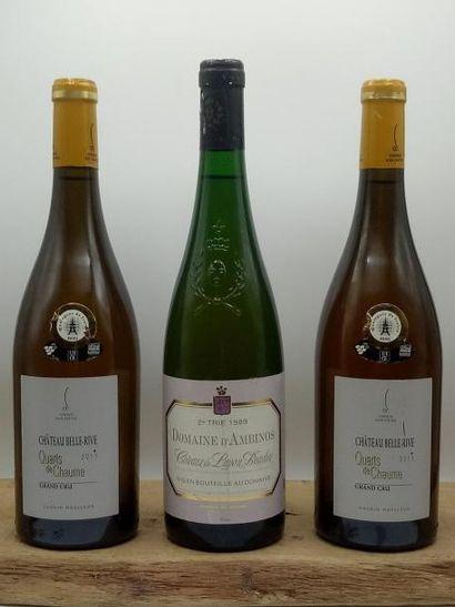 1 bouteille Côteau du Layon Beaulieu