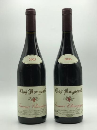 1 bouteille Saumur Champigny