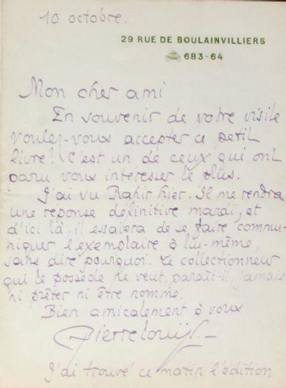PIERRE LOUYS (1870-1925)