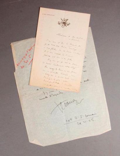 [Hommes de Lettres] Réunion d'autographes...