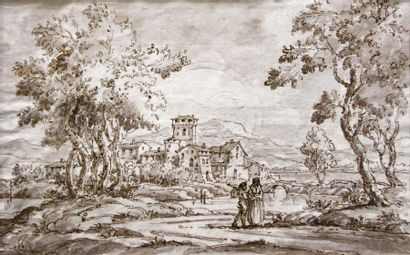 École VÉNITIENNE, dans le goût du XVIIIe s