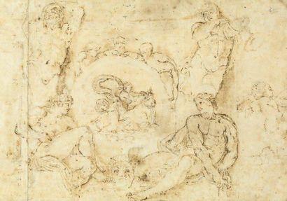 Ecole ROMAINE du XVIIe siècle