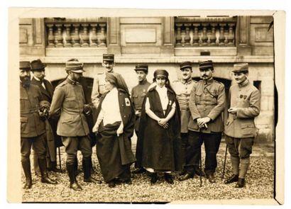 APOLLINAIRE (Guillaume) et les blessés de l'Hôpital italien