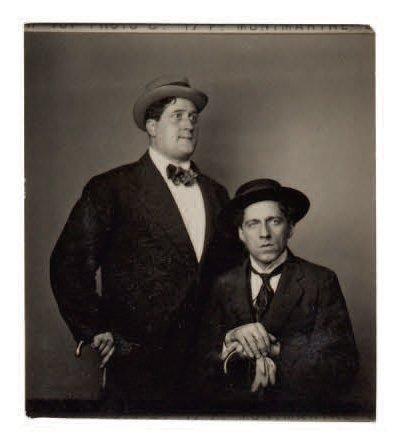 APOLLINAIRE (Guillaume) avec le metteur en scène russe Meyerhold