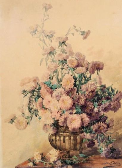 Blanche ODIN (1865-1957)