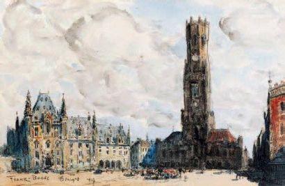 FRANK-BOGGS (Springfield 1855 - Meudon 1926)