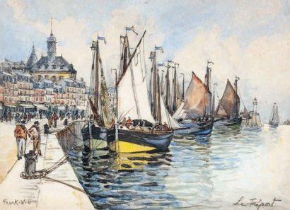 FRANK- WILL (Nanterre 1900 - Paris 1950)