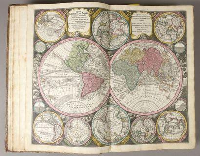 [ATLAS]. Recueil de 140 cartes géographiques...