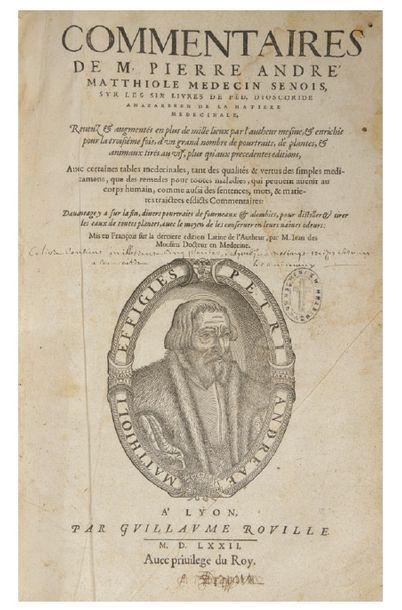 MATTIOLI (Pietro Andrea) / MATTHIOLE Pierre André.