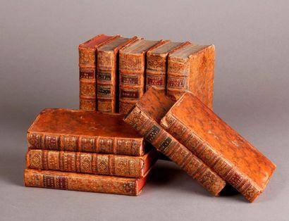 [Paris, ensemble de dix volumes]. FERRIERE...