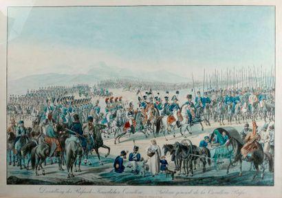 Tableau général de la Cavalerie Russe Grande...
