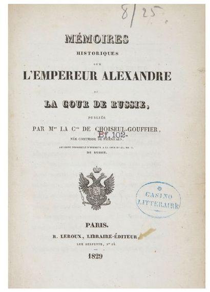 [Alexandre Ier].