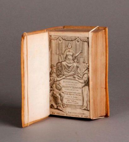 JUSTINIEN. Justiniani, sacratissimi principis....