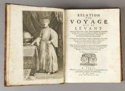THEVENOT (Jean de, 1633-1667)