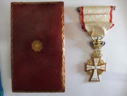 ORDRE de DANNEBROG, de Christian X 1912-1947...