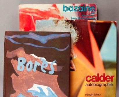 [Réunion de trois ouvrages d'artistes]. CALDER...