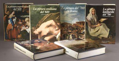 La Pittura Lombarda del '700, par M. Bona...
