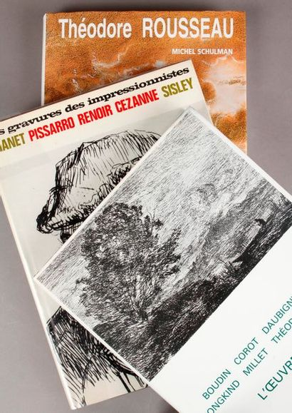 [Gravures]. ROUSSEAU (Théodore). Catalogue...