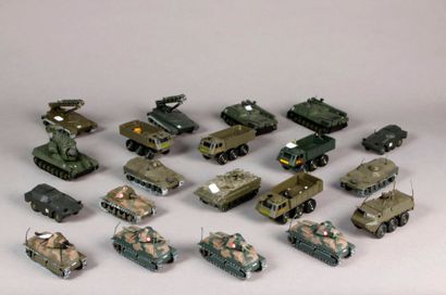 SOLIDO: Véhicules militaires: tanks – EBR...