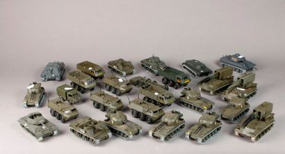 SOLIDO: Véhicules militaires : tanks – chars...