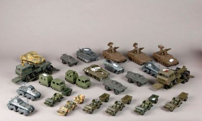 SOLIDO: Véhicules militaires: tanks – chars...