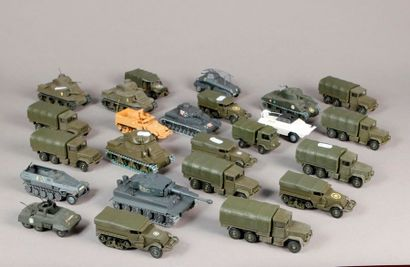 SOLIDO: Véhicules militaires: chars – camions...