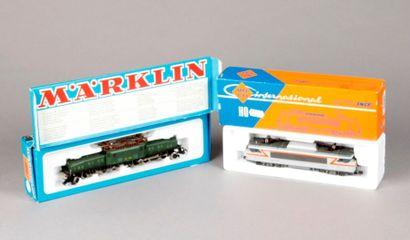 MARKLIN – ROCO: Locomotive «CROCODILE»...