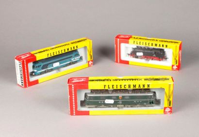 FLEISCHMANN: Motrice BB 68000, réf. 4280...
