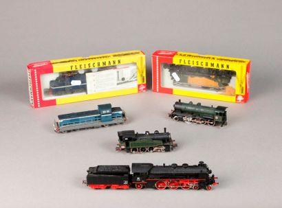 FLEISCHMANN: Motrice BB 4369 – loco-tenders...