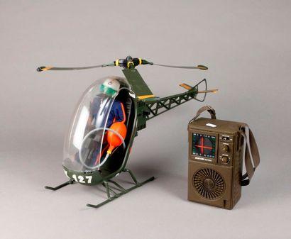 Hélicoptère ACTION MAN n° 39 avec radio.