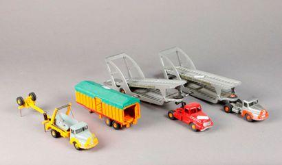 DSTF: porte voitures BOILOT et remorque...