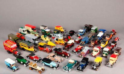 SOLIDO – RIO et divers: lot de véhicules...