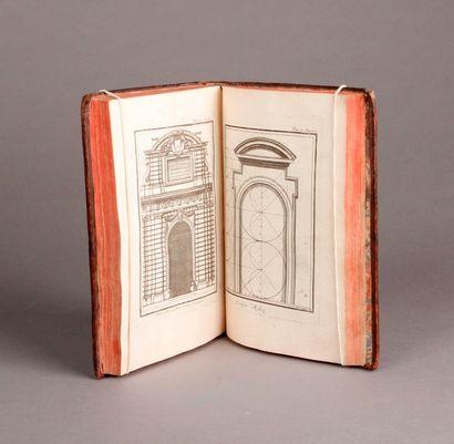 PALLADIO (Andrea) Architecture, contenant les cinq ordres d'architecture, suivant...