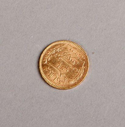 PIÈCE de 20 Francs or, Tunisie 1904. Pds:...