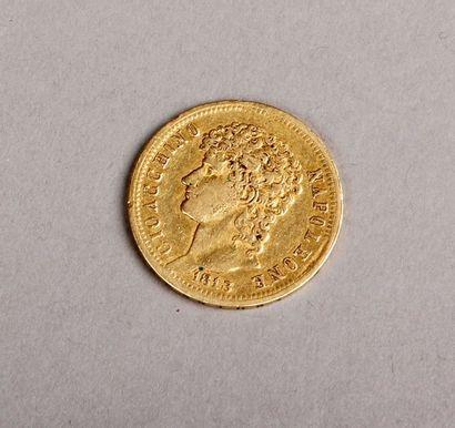 PIÈCE de 40 Lires italiennes 1813, Royaume...