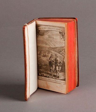 [BOUHOURS (Dominique)] Les Entretiens d'Aristé et d'Eugène. Quatrième édition, où...