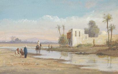 École orientaliste fin XIXe siècle