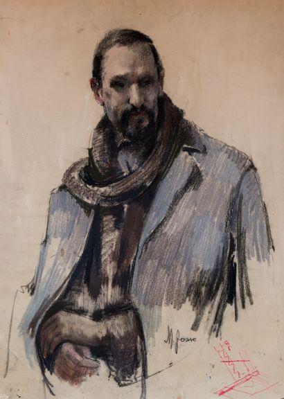 Mladen JOSIC (1897-1972)  Portrait du peintre...