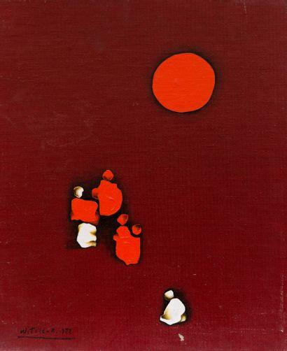 Witold KACZANOWSKI (1932)  Composition  Huile...
