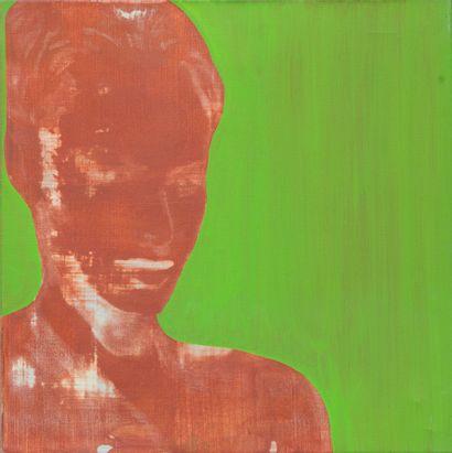 Essam MAROUF (1958)  Portrait  Acrylique...